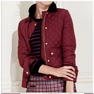 J Crew Womens Small Jacket Quilted Zip Up Coat S